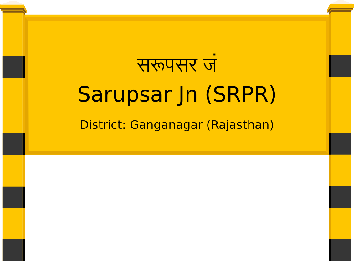 Sarupsar Jn (SRPR) Railway Station