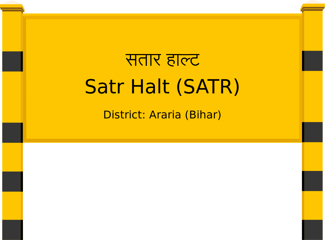 Satr Halt (SATR) Railway Station