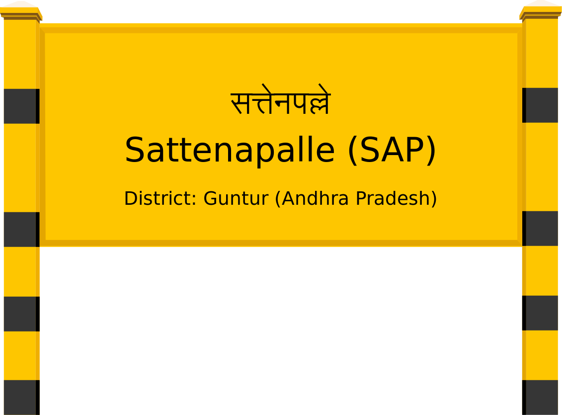 Sattenapalle (SAP) Railway Station