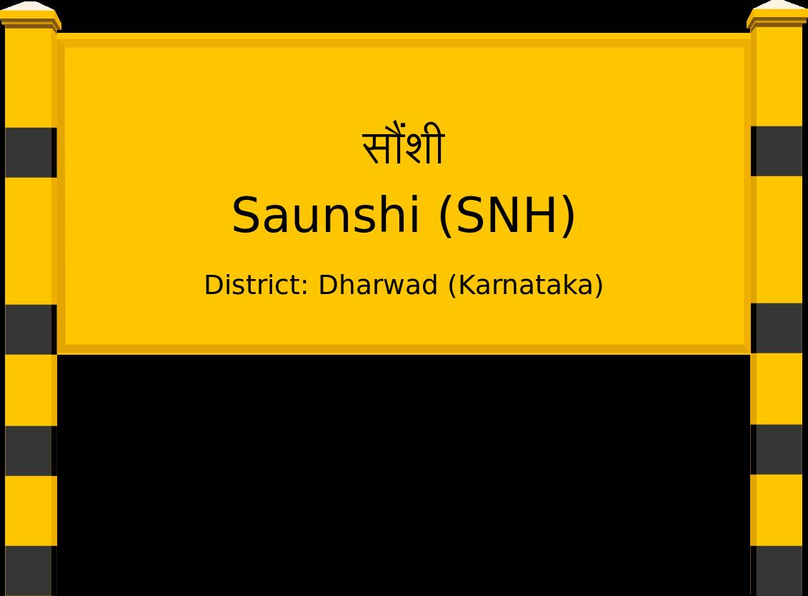 Saunshi (SNH) Railway Station
