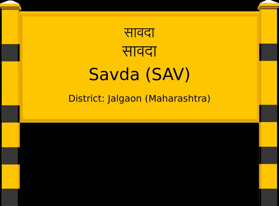 Savda (SAV) Railway Station