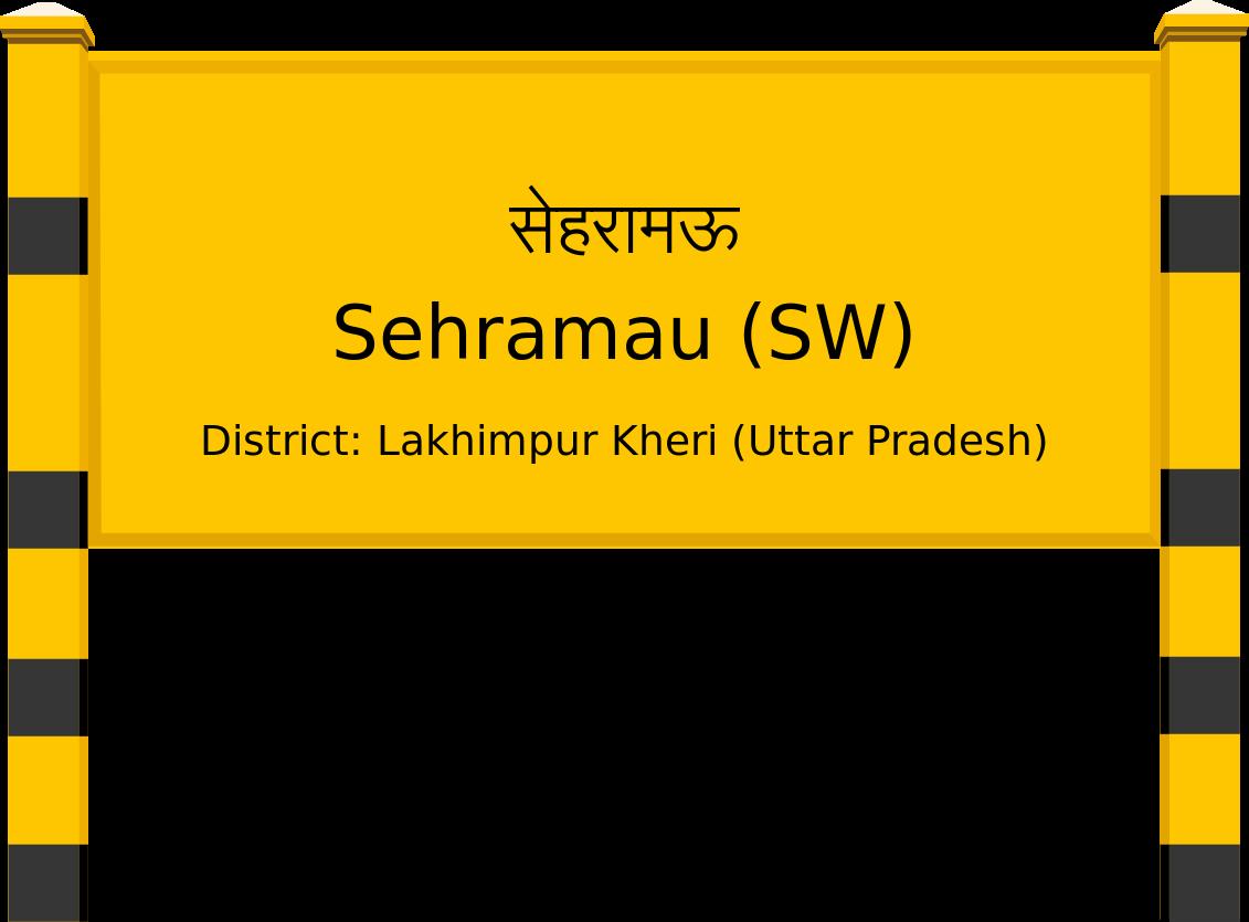 Sehramau (SW) Railway Station