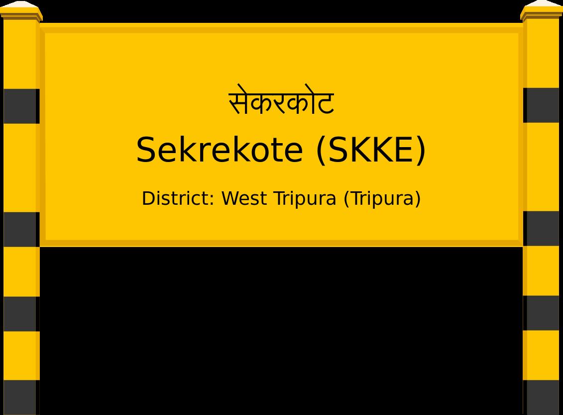 Sekrekote (SKKE) Railway Station