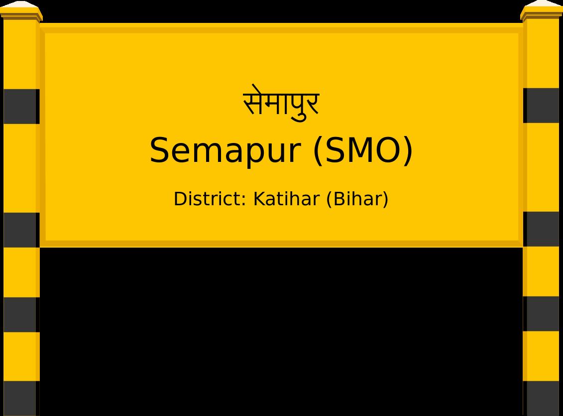 Semapur (SMO) Railway Station