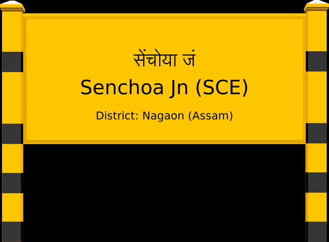 Senchoa Jn (SCE) Railway Station