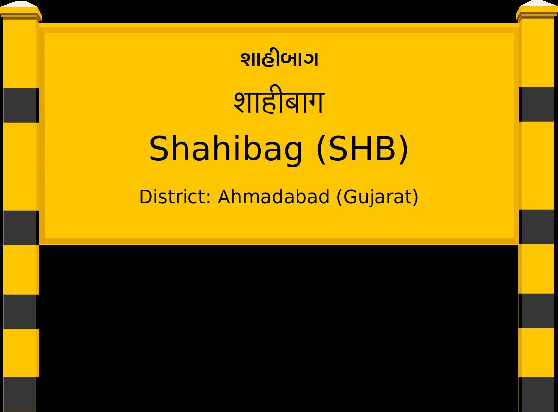Shahibag (SHB) Railway Station