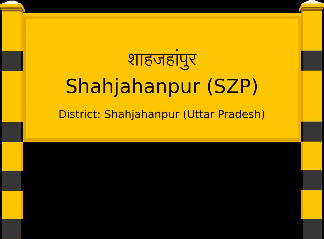 Shahjahanpur (SZP) Railway Station
