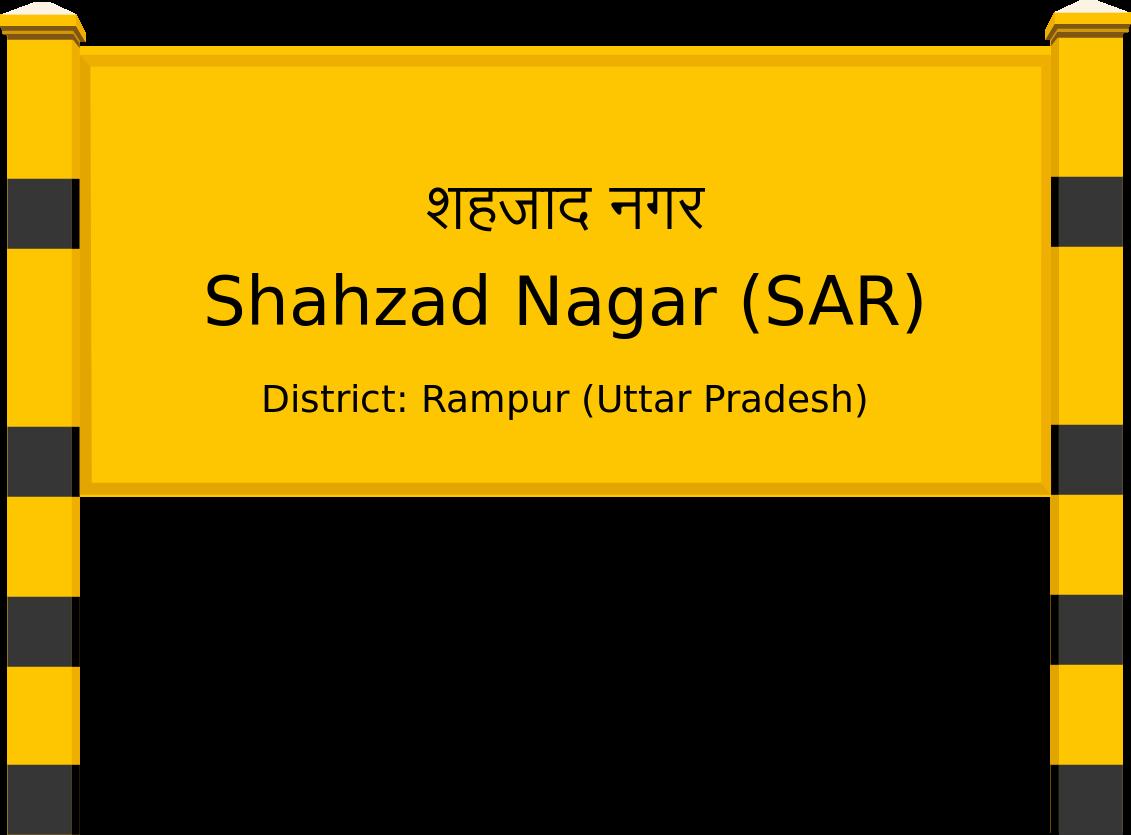 Shahzad Nagar (SAR) Railway Station