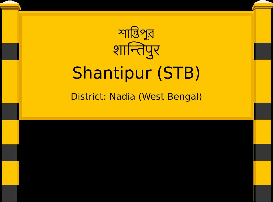 Shantipur (STB) Railway Station