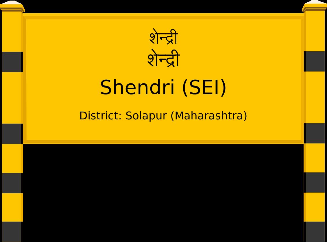 Shendri (SEI) Railway Station
