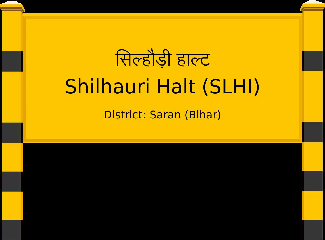 Shilhauri Halt (SLHI) Railway Station