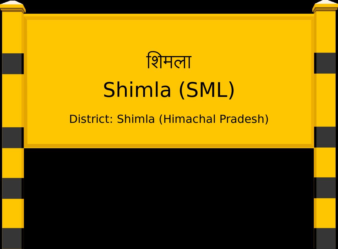 Shimla (SML) Railway Station