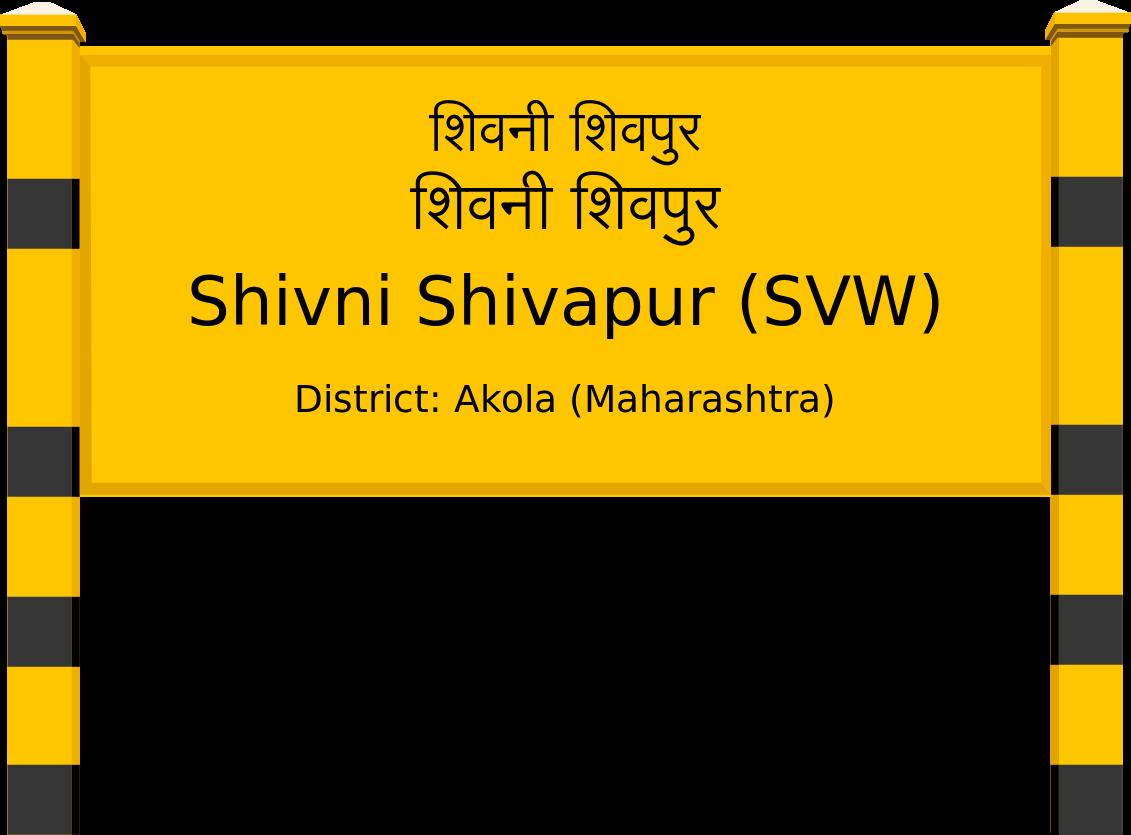 Shivni Shivapur (SVW) Railway Station