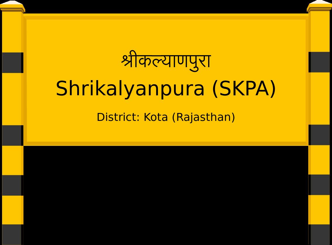 Shrikalyanpura (SKPA) Railway Station