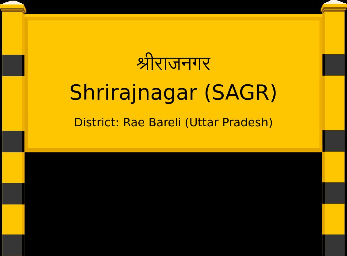 Shrirajnagar (SAGR) Railway Station