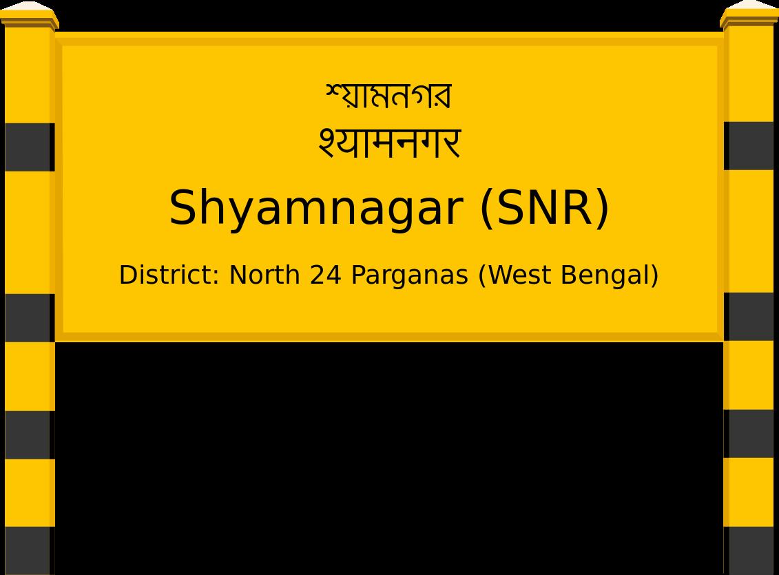 Shyamnagar (SNR) Railway Station