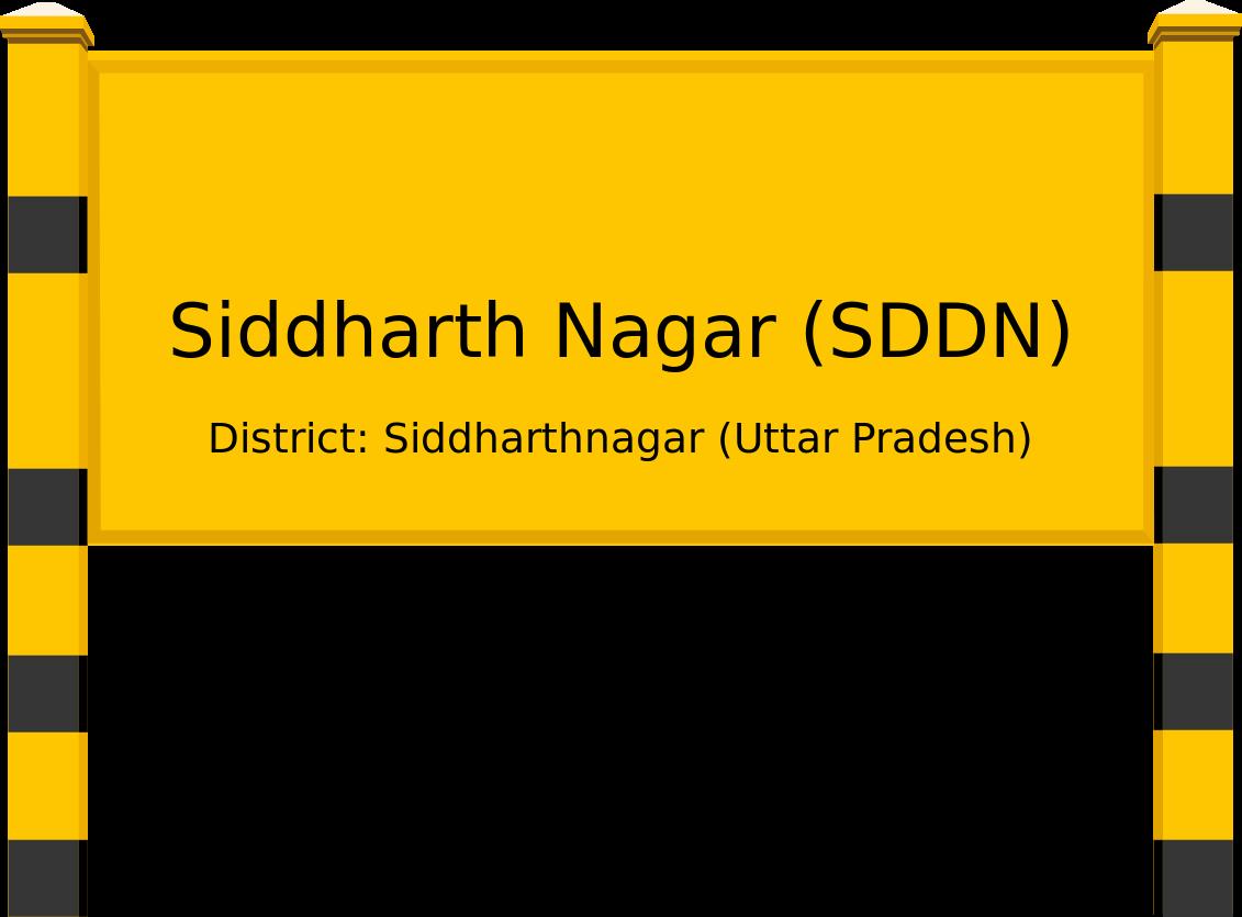 Siddharth Nagar (SDDN) Railway Station