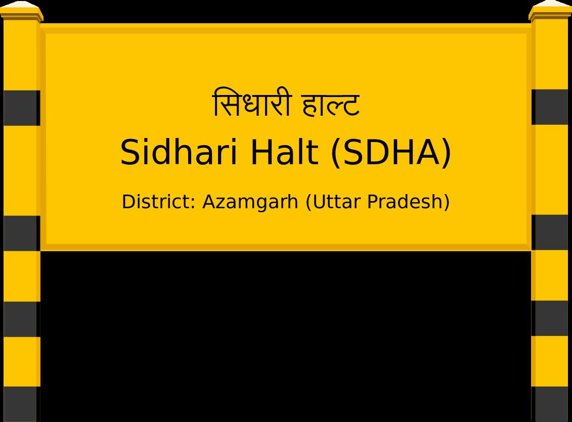 Sidhari Halt (SDHA) Railway Station