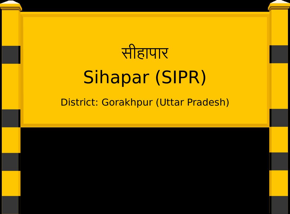 Sihapar (SIPR) Railway Station