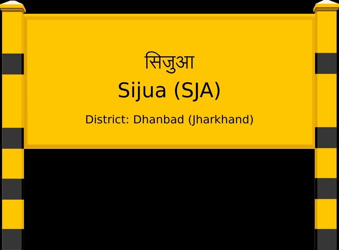 Sijua (SJA) Railway Station