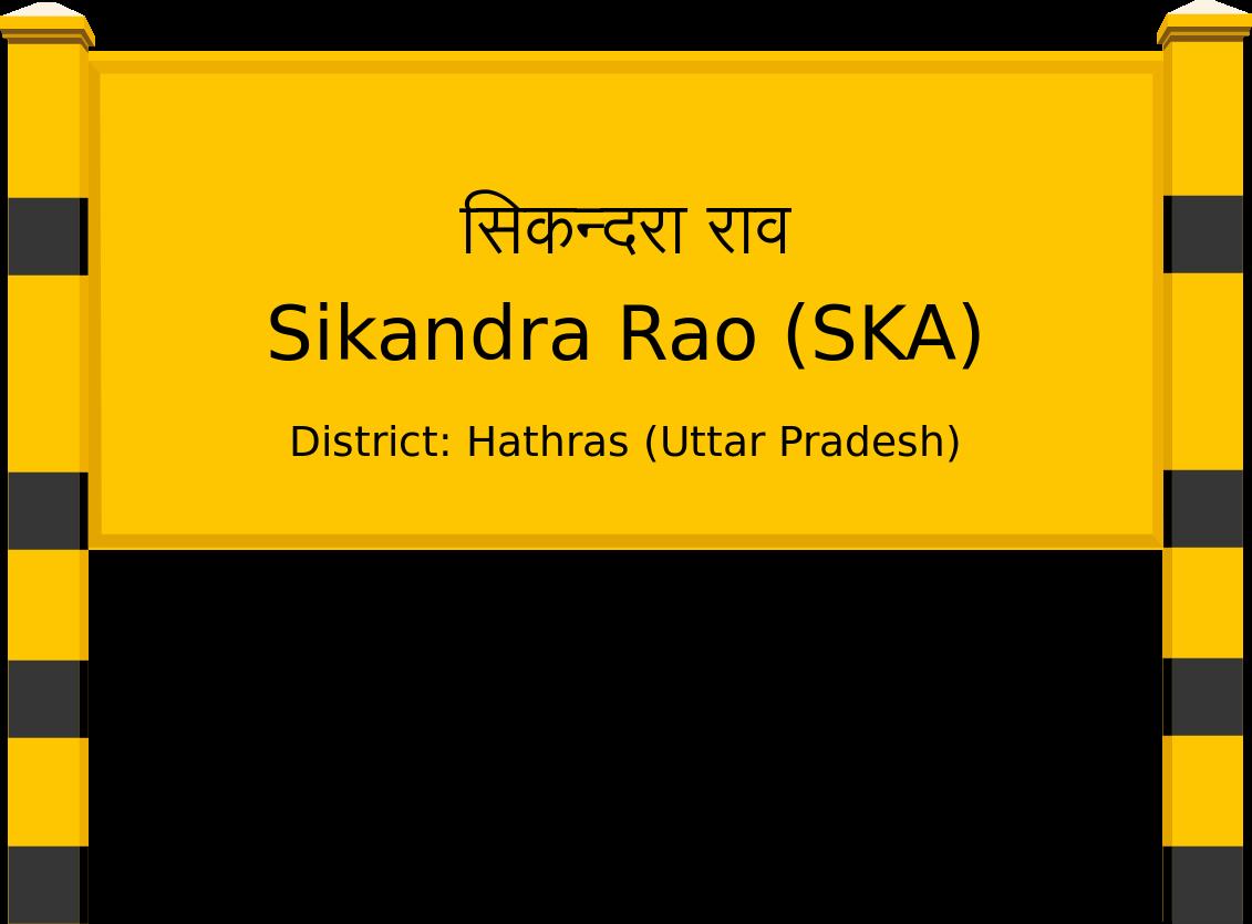 Sikandra Rao (SKA) Railway Station