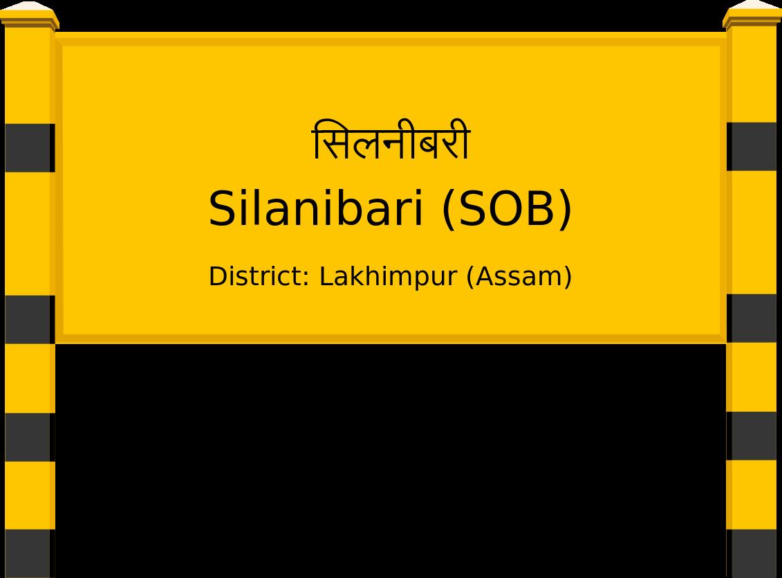 Silanibari (SOB) Railway Station
