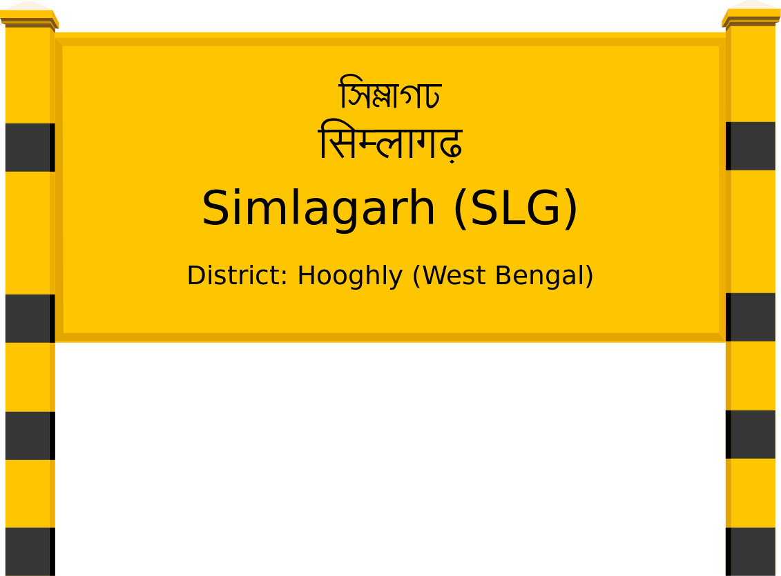 Simlagarh (SLG) Railway Station