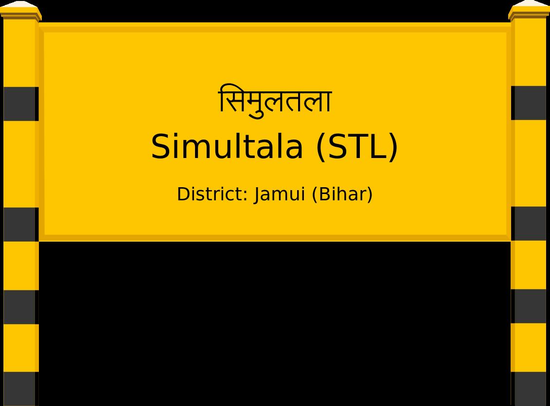 Simultala (STL) Railway Station