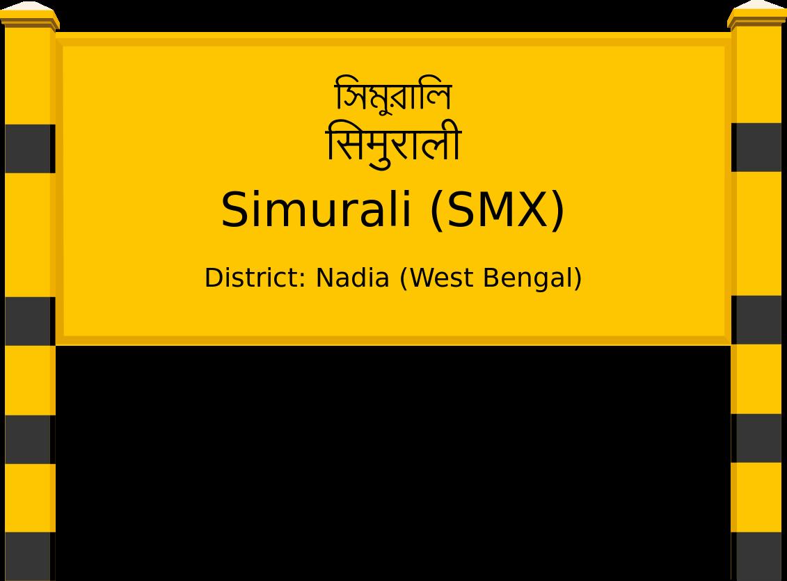 Simurali (SMX) Railway Station