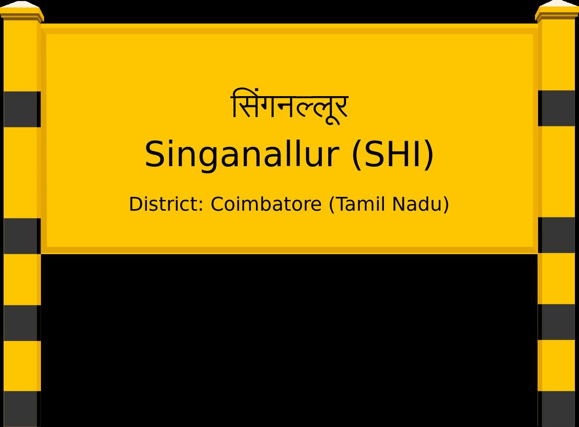 Singanallur (SHI) Railway Station