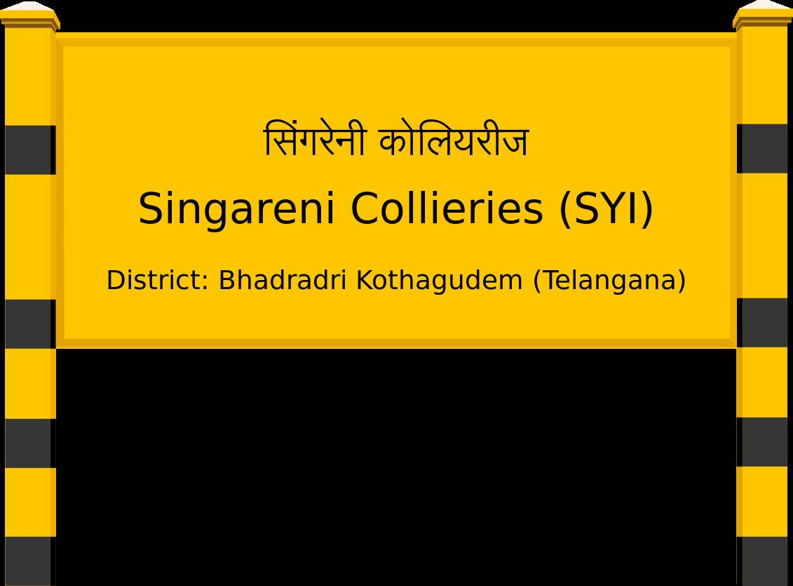 Singareni Collieries (SYI) Railway Station