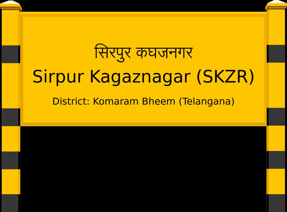 Sirpur Kagaznagar (SKZR) Railway Station