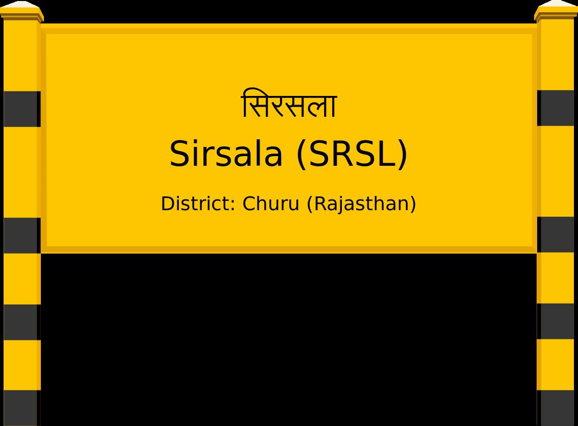Sirsala (SRSL) Railway Station