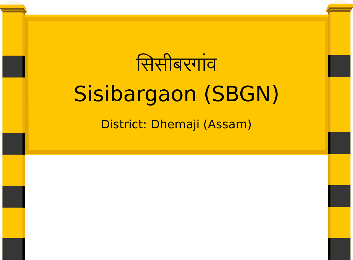 Sisibargaon (SBGN) Railway Station