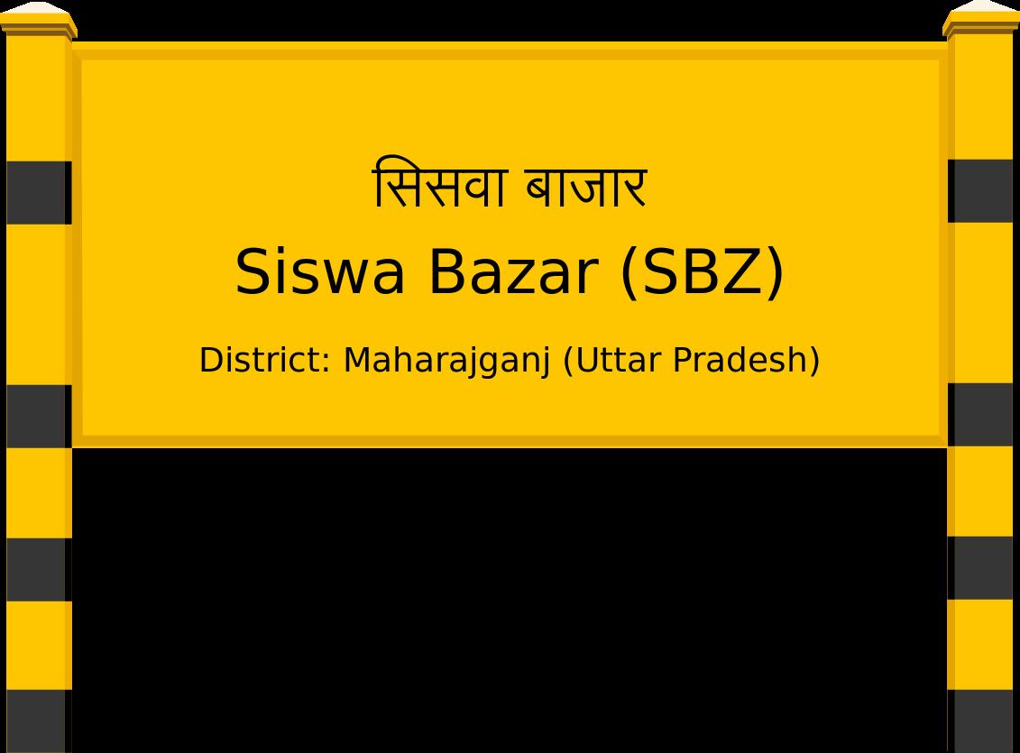 Siswa Bazar (SBZ) Railway Station