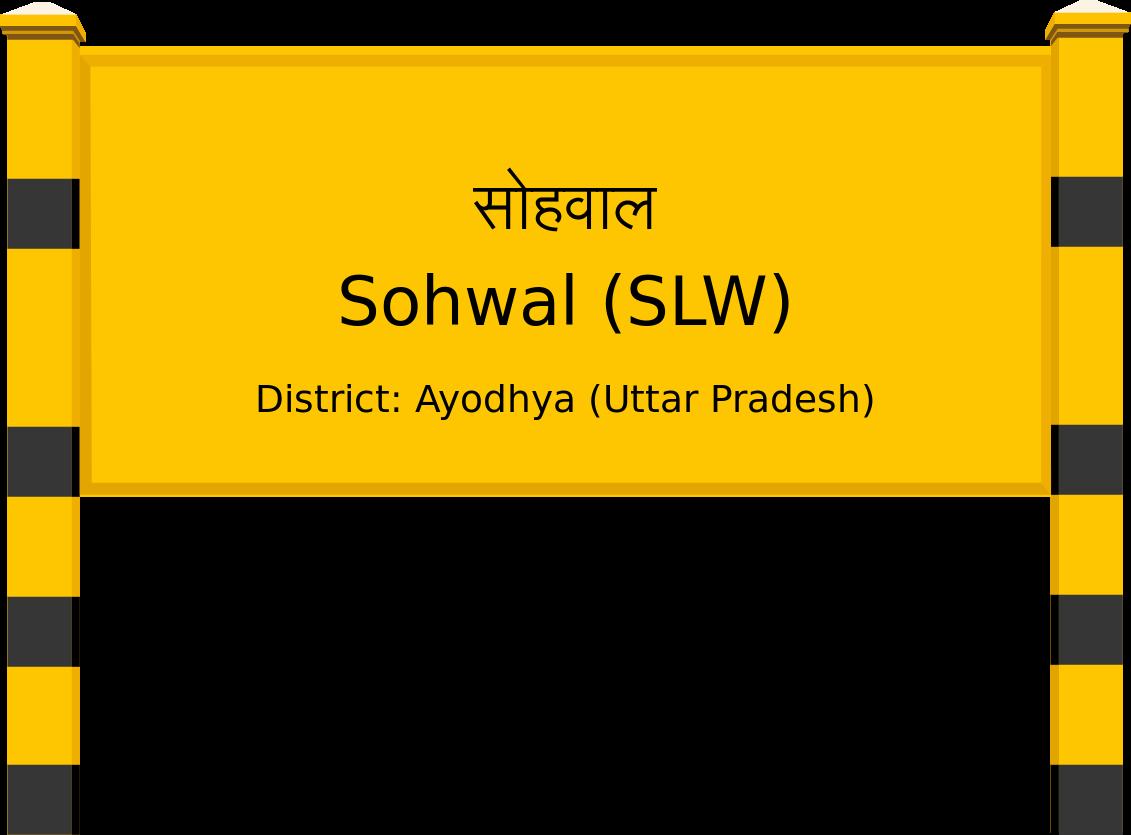 Sohwal (SLW) Railway Station