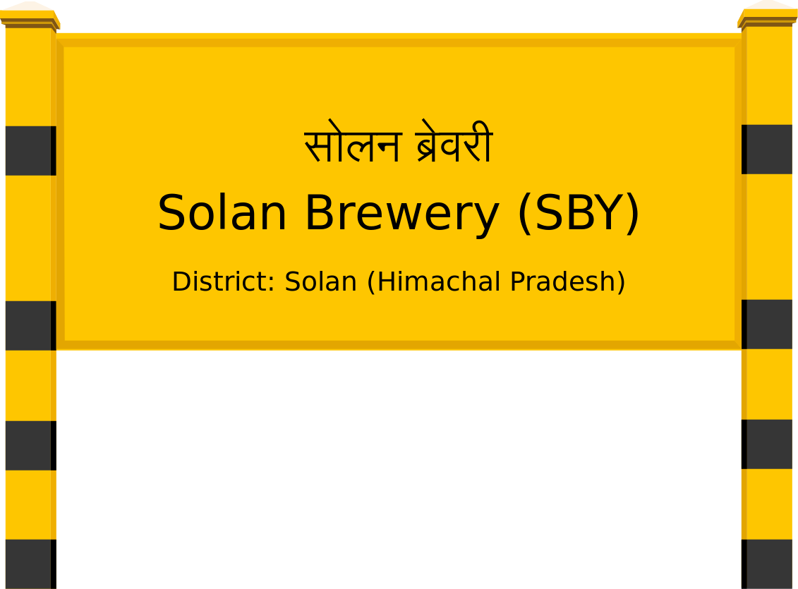 Solan Brewery (SBY) Railway Station