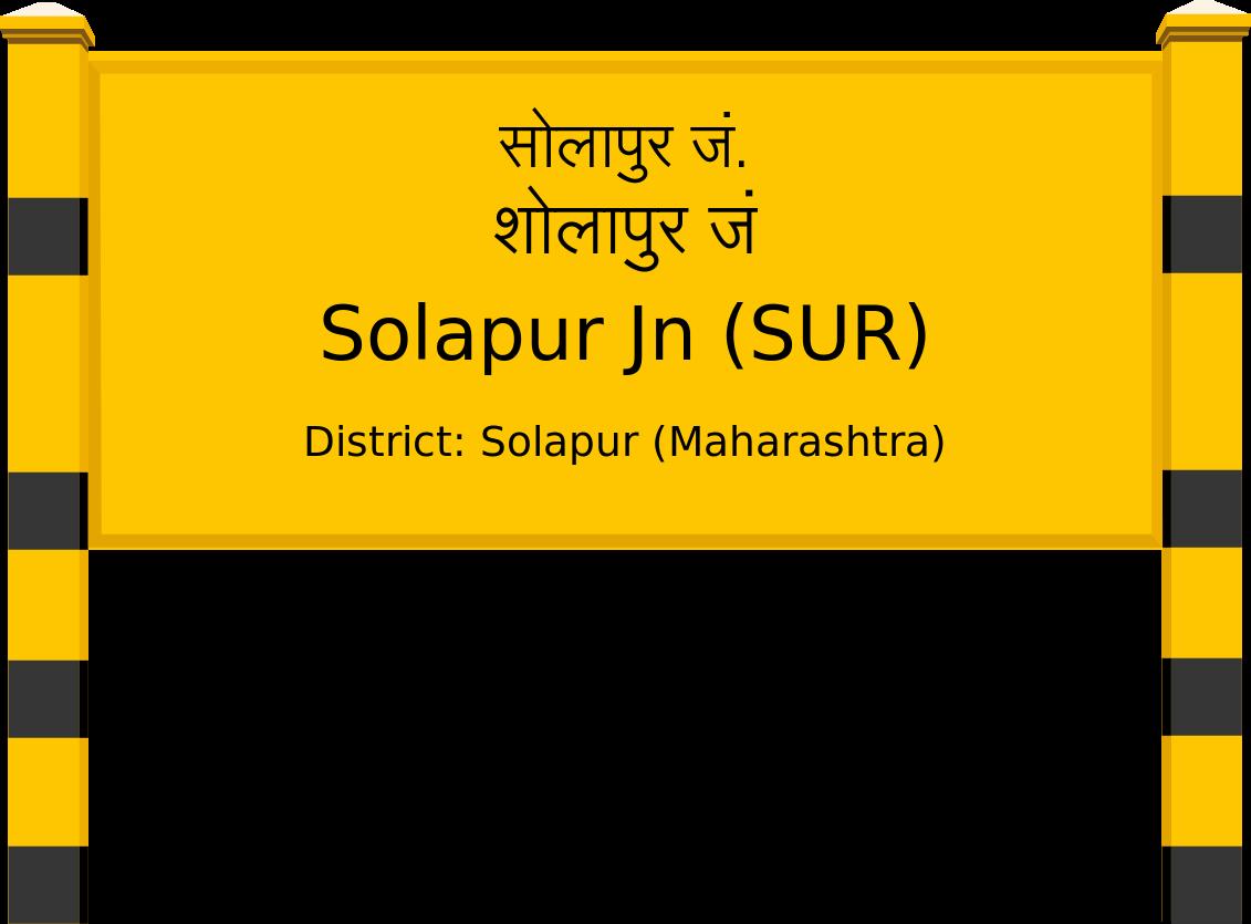 Solapur Jn (SUR) Railway Station
