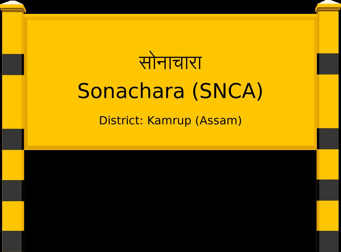 Sonachara (SNCA) Railway Station