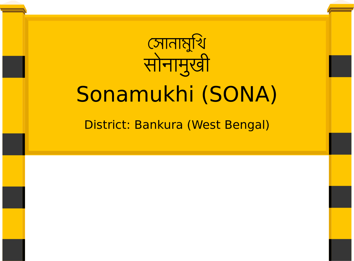 Sonamukhi (SONA) Railway Station