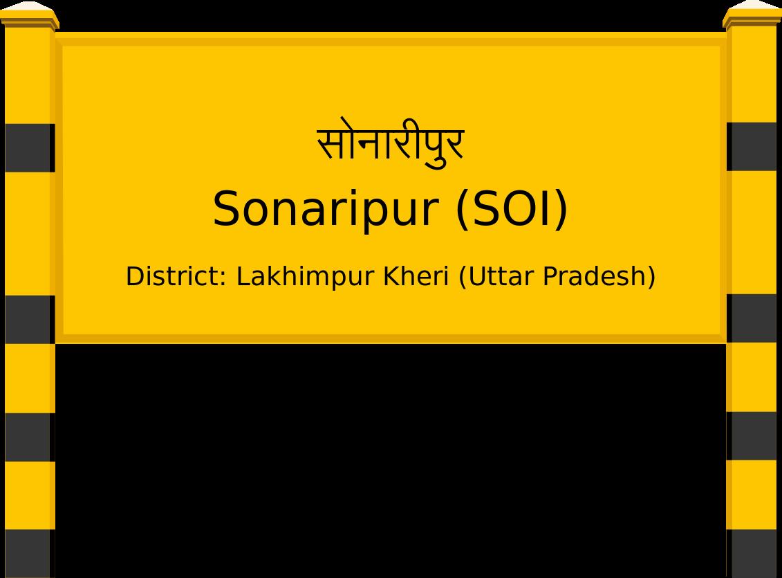 Sonaripur (SOI) Railway Station