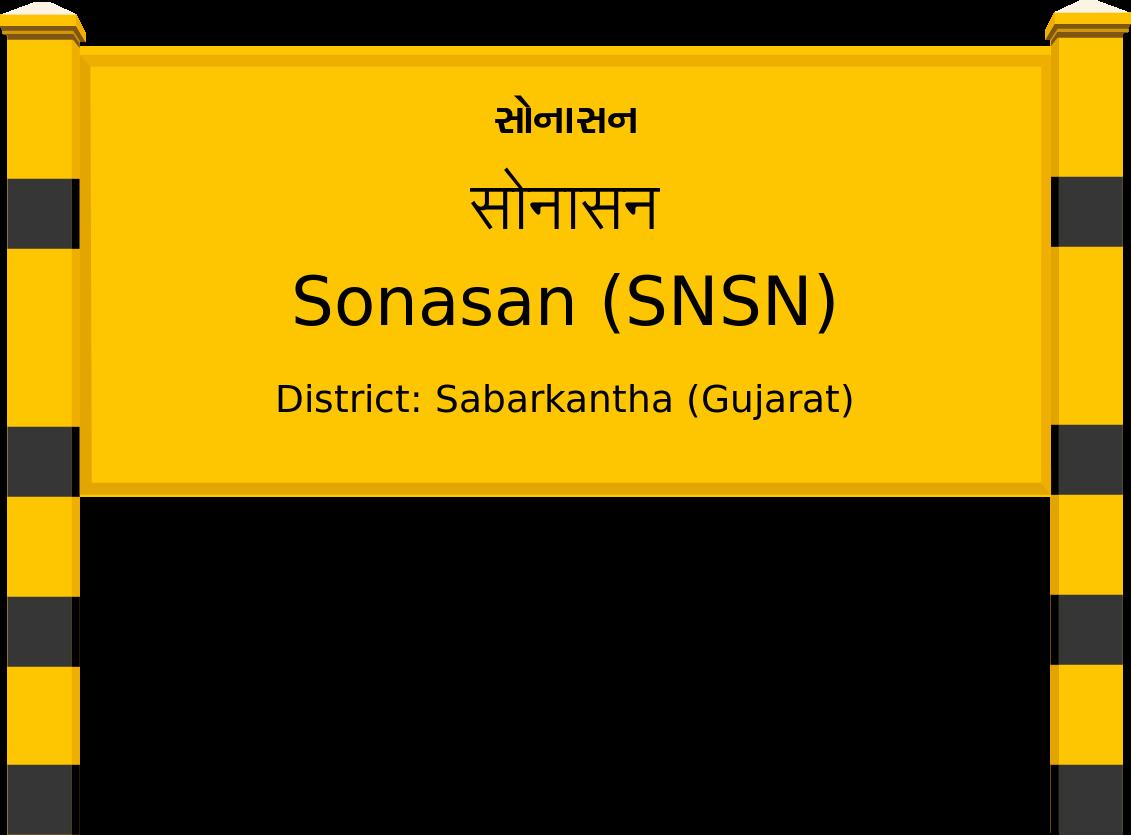 Sonasan (SNSN) Railway Station