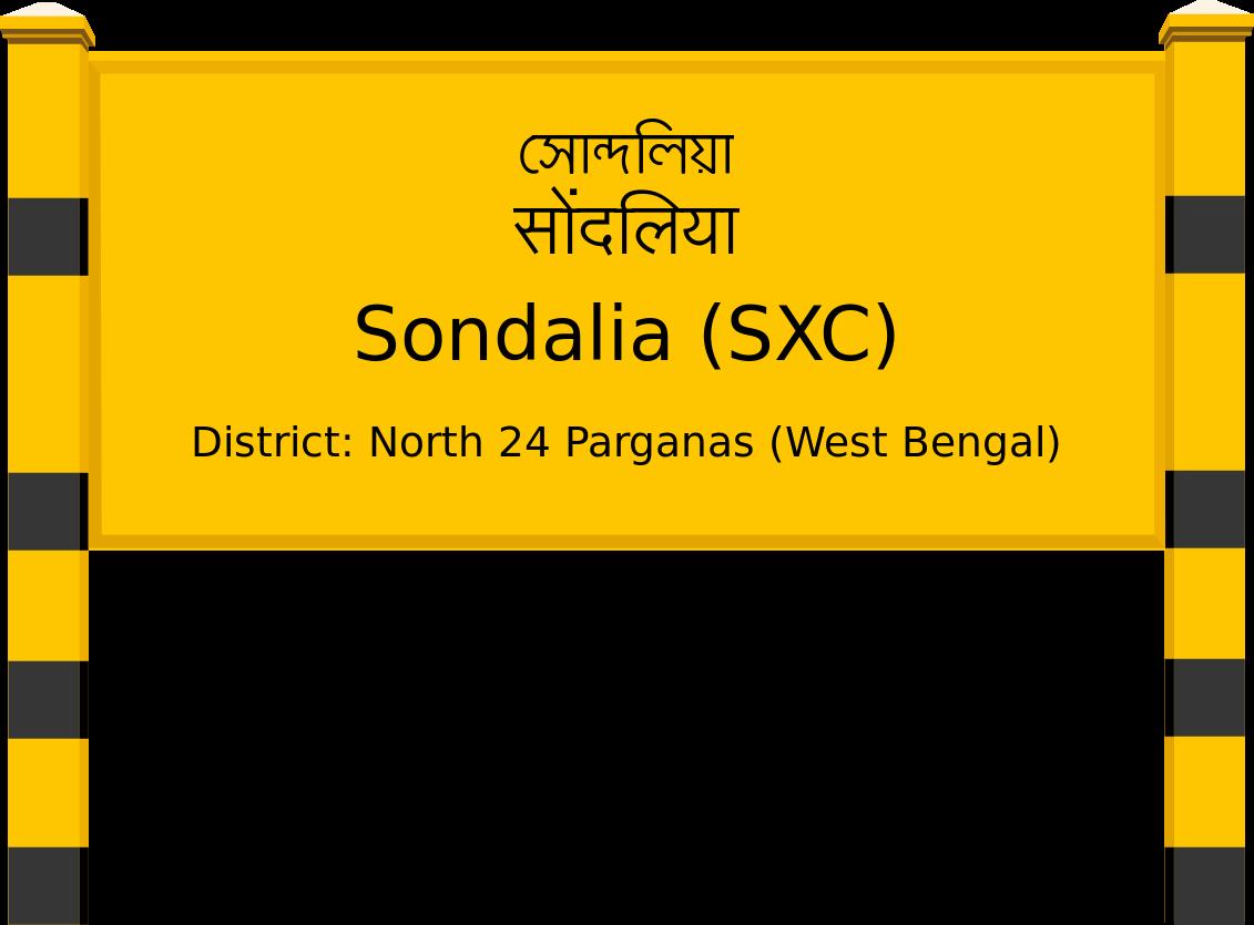 Sondalia (SXC) Railway Station