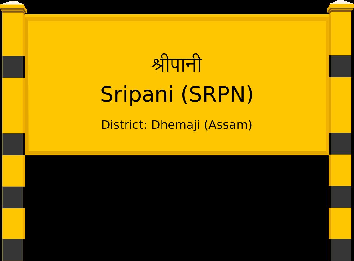 Sripani (SRPN) Railway Station