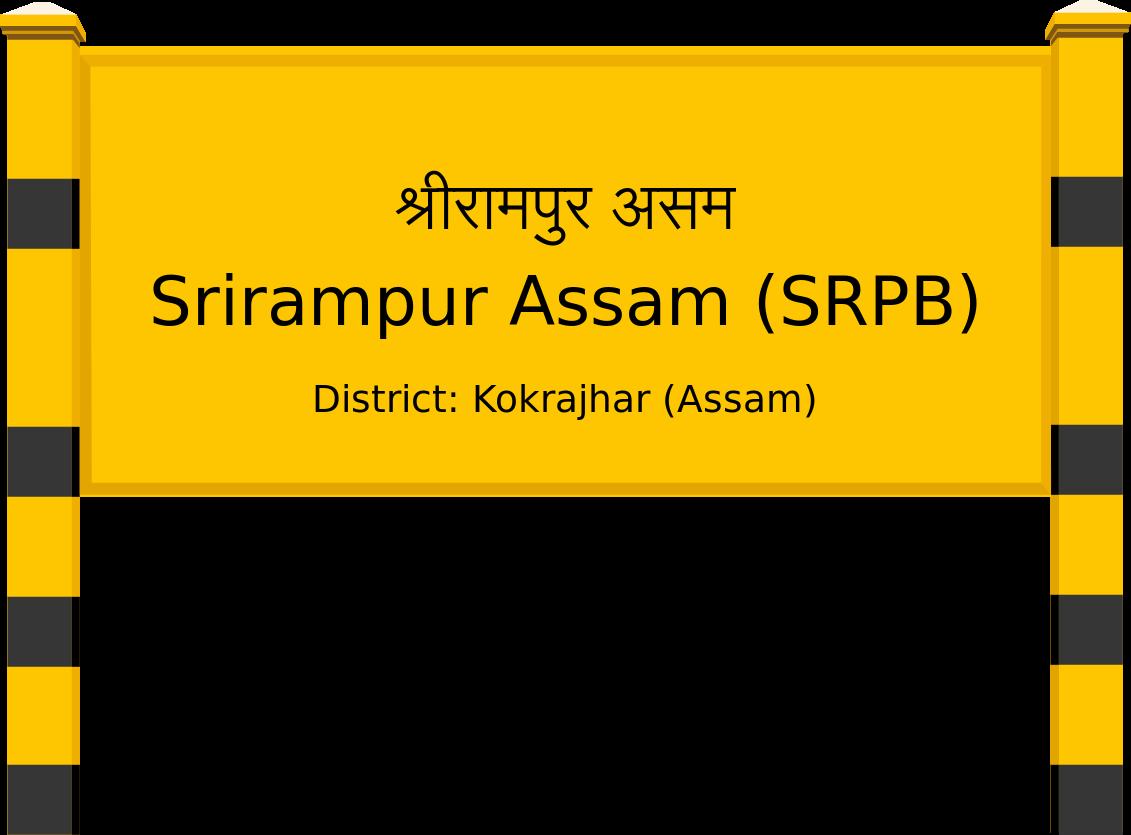 Srirampur Assam (SRPB) Railway Station