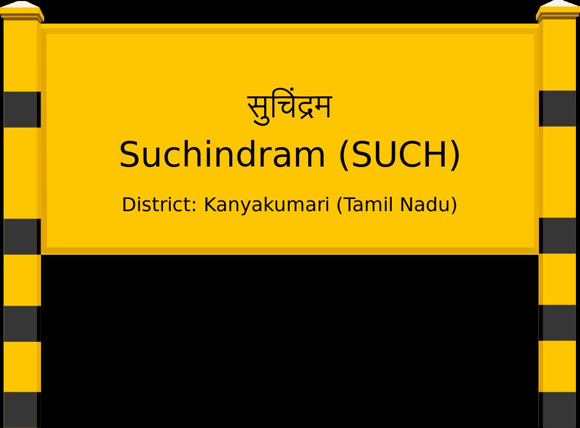 Suchindram (SUCH) Railway Station
