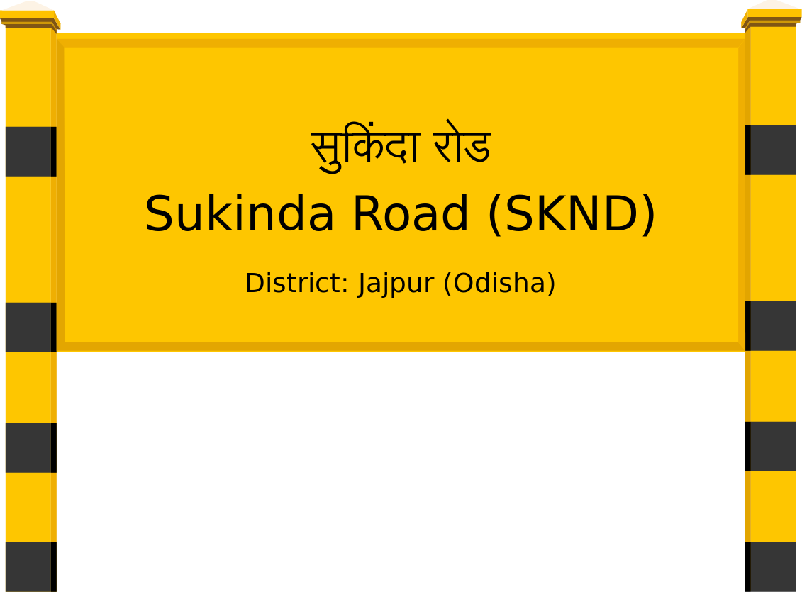 Sukinda Road (SKND) Railway Station