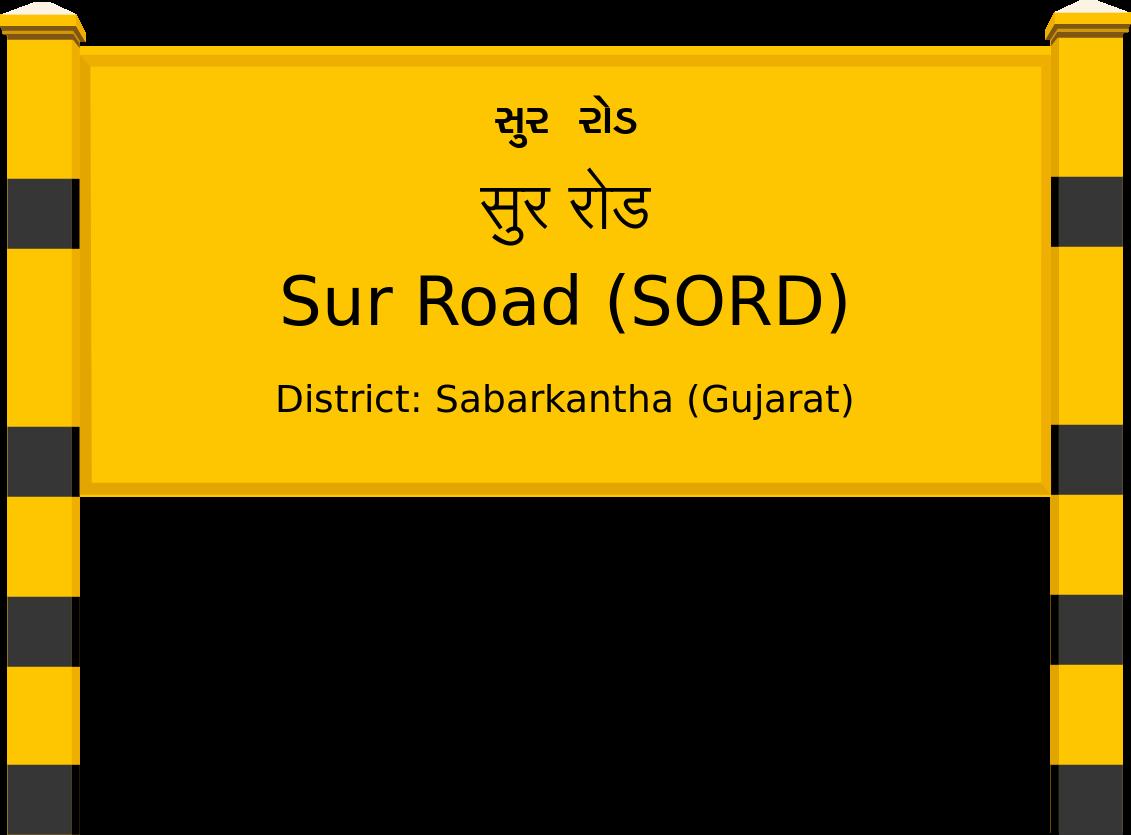 Sur Road (SORD) Railway Station