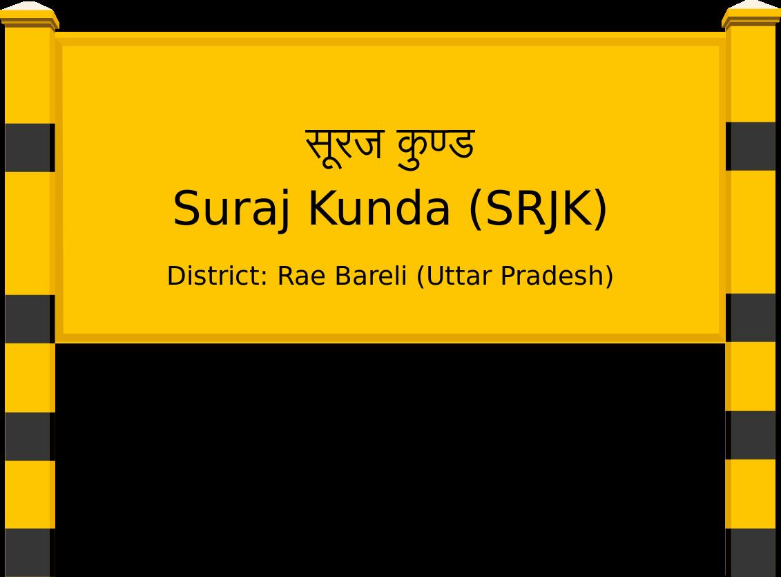 Suraj Kunda (SRJK) Railway Station