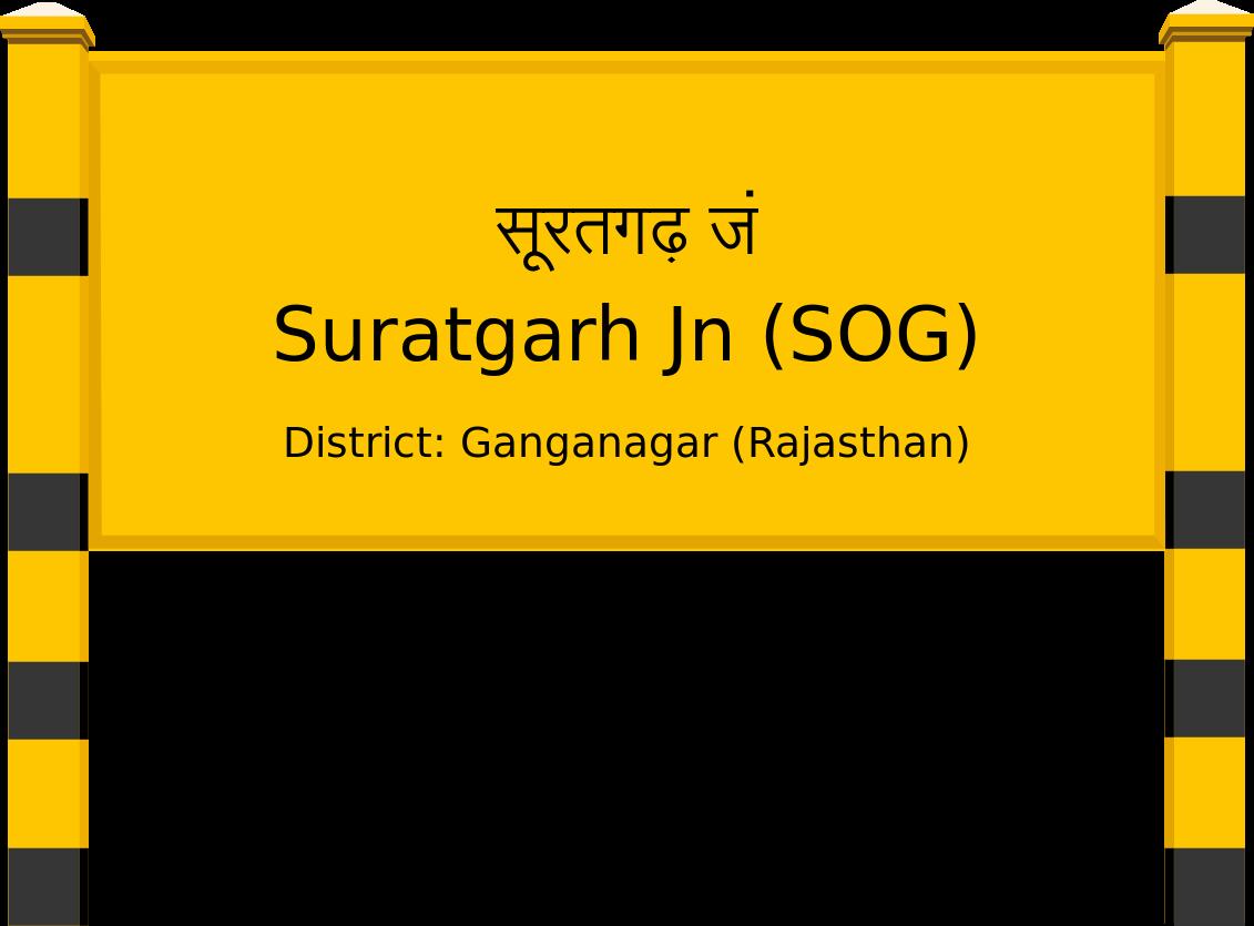 Suratgarh Jn (SOG) Railway Station